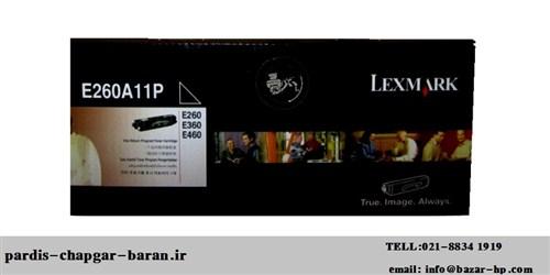 کارتریج لیزری لکس مارکE260A11P,قیمت کارتریج لیزری لکس مارک E260A11P,فروش کارتریج لیزری 260لیزری LEXMARK